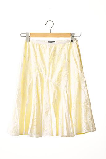 Jupe mi-longue jaune BARBARA BUI pour femme