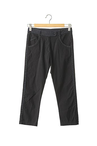 Pantalon 7/8 bleu COTELAC pour femme