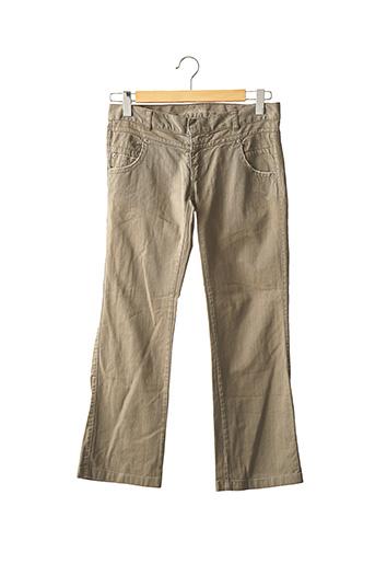 Pantalon casual vert ZADIG & VOLTAIRE pour femme