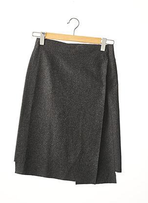 Jupe mi-longue gris IKKS pour femme
