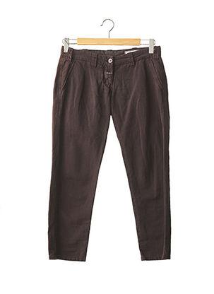 Pantalon 7/8 marron CLOSED pour femme