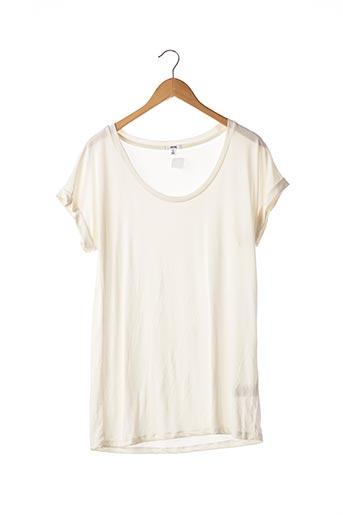 T-shirt manches courtes blanc ARDENE pour femme