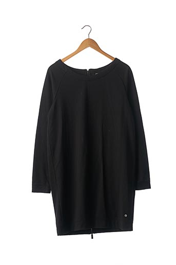 Robe mi-longue noir BENCH pour femme