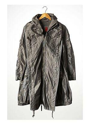 Manteau long gris MARITHE & FRANCOIS GIRBAUD pour femme