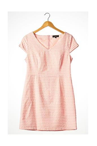 Robe courte rose ATTENTIF pour femme
