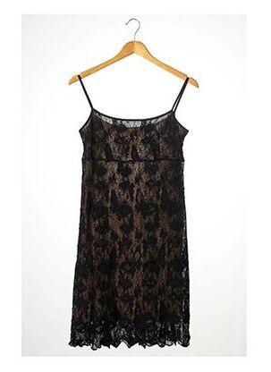 Robe mi-longue noir ANNE FONTAINE pour femme