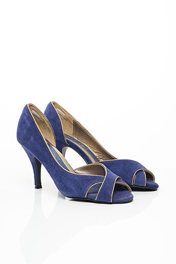 Escarpins bleu ANDRE pour femme