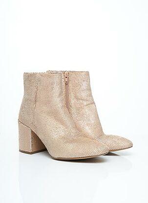 Bottines/Boots rose ELVIO ZANON pour femme