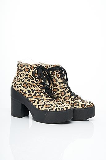 Bottines/Boots beige PRIMA DONNA pour femme