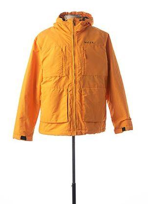 Parka orange NICCE pour homme