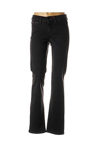 Jeans coupe droite noir CAMBIO pour femme
