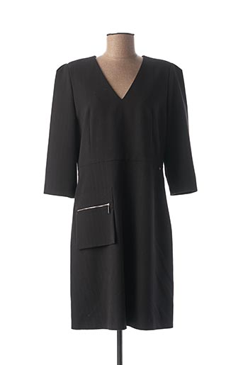 Robe mi-longue noir COP COPINE pour femme
