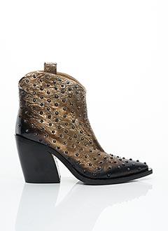 Bottines/Boots marron FRU.IT pour femme