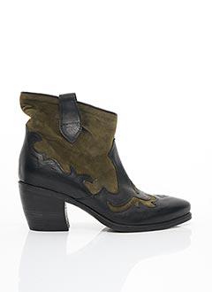 Bottines/Boots vert FRU.IT pour femme