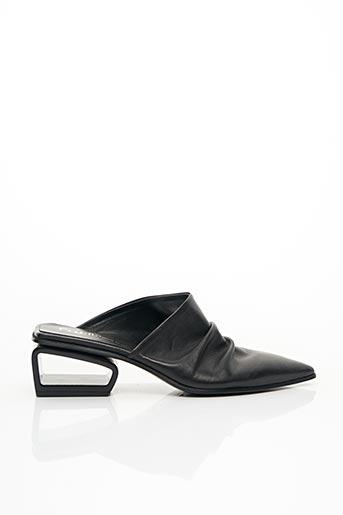 Mules/Sabots noir FRU.IT pour femme