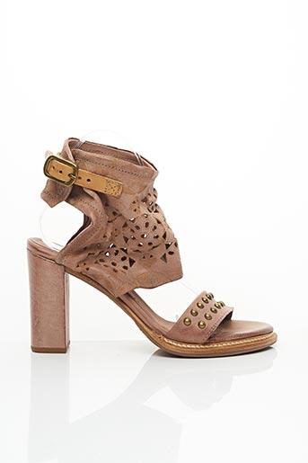 Sandales/Nu pieds rose A.S.98 pour femme