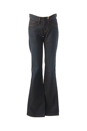 Jeans bootcut bleu CHEFDEVILLE pour femme