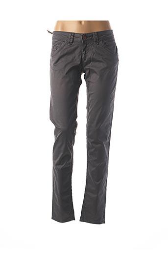 Pantalon casual gris FIVE PM pour femme