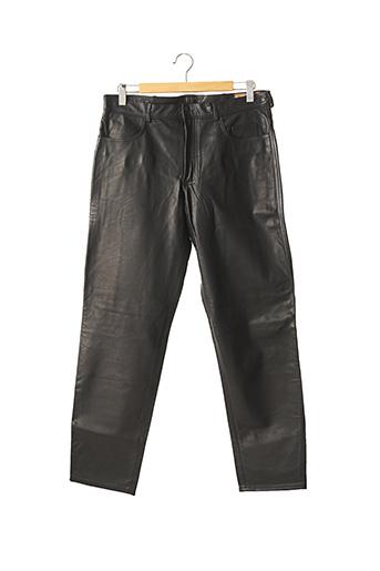 Pantalon casual noir BUSH AND CITY pour homme