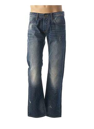Jeans coupe droite bleu ENERGIE pour homme
