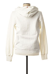 Gilet manches longues blanc FRANKLIN MARSHALL pour homme seconde vue