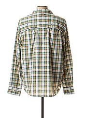 Chemise manches longues vert AIGLE pour homme seconde vue