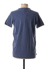 T-shirt manches courtes bleu FRANKLIN MARSHALL pour homme seconde vue