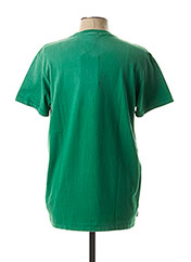 T-shirt manches courtes vert FRANKLIN MARSHALL pour homme seconde vue