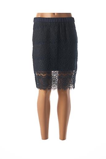 Jupe mi-longue bleu COP COPINE pour femme