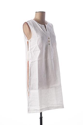 Robe mi-longue blanc LE BOUDOIR D'EDOUARD pour femme