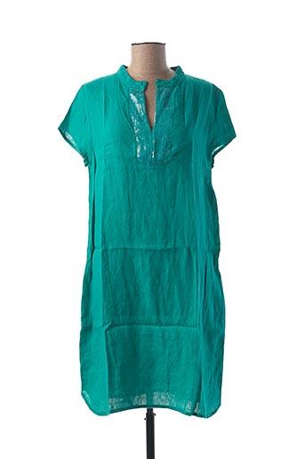 Robe mi-longue vert LE BOUDOIR D'EDOUARD pour femme