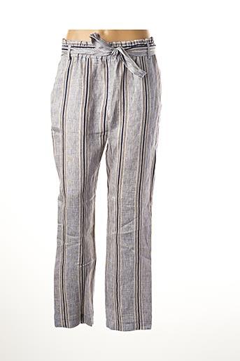 Pantalon casual bleu LE BOUDOIR D'EDOUARD pour femme