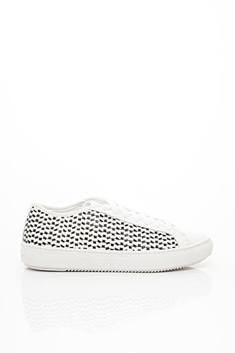 Baskets blanc LE COQ SPORTIF pour femme