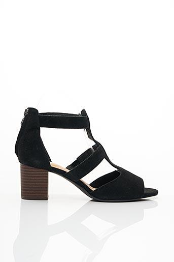 Sandales/Nu pieds noir CLARKS pour femme