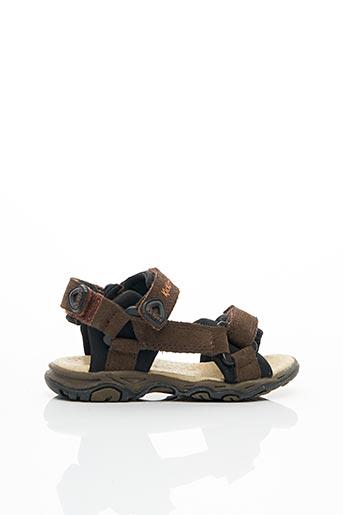 Sandales/Nu pieds marron KICKERS pour garçon