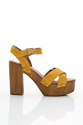 Sandales/Nu pieds jaune ALDO pour femme
