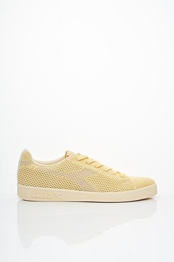 Baskets jaune DIADORA pour femme