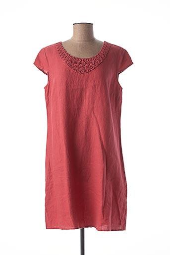 Robe courte rose MEXX pour femme