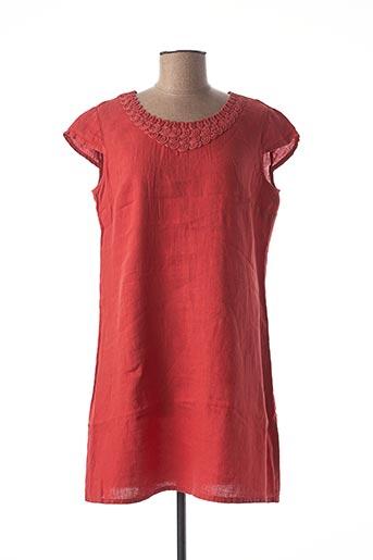 Robe courte rouge MEXX pour femme