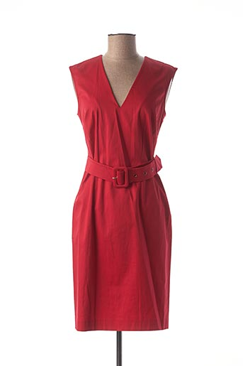 Robe mi-longue rouge MEXX pour femme