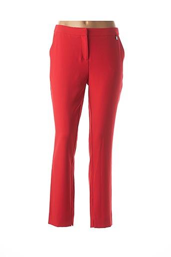 Pantalon chic rouge MEXX pour femme