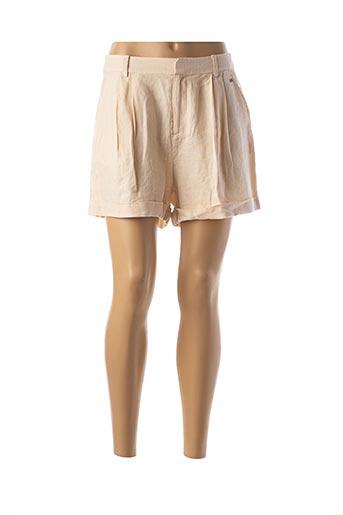 Short beige MEXX pour femme