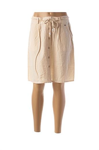 Jupe mi-longue beige MEXX pour femme