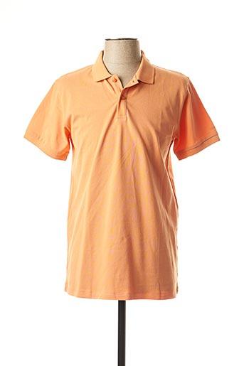 Polo manches courtes orange MEXX pour homme