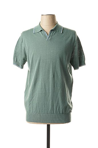 Pull col chemisier vert MEXX pour homme