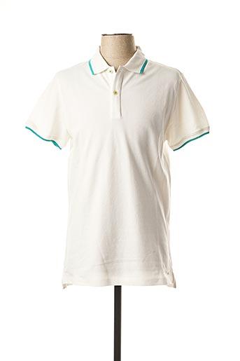 Polo manches courtes blanc MEXX pour homme