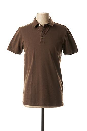 Polo manches courtes marron MEXX pour homme