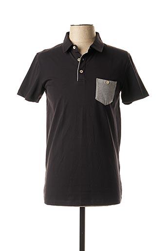 Polo manches courtes noir MEXX pour homme