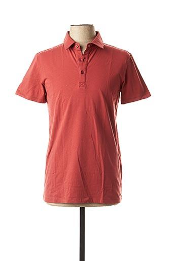 Polo manches courtes rouge MEXX pour homme