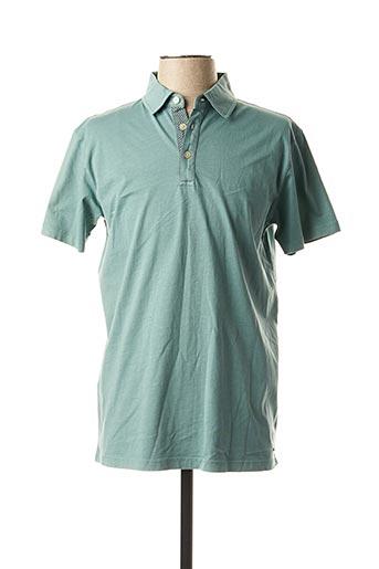 Polo manches courtes vert MEXX pour homme
